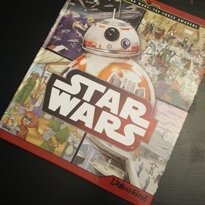 STAR WARS Hardcover Look & Find Book